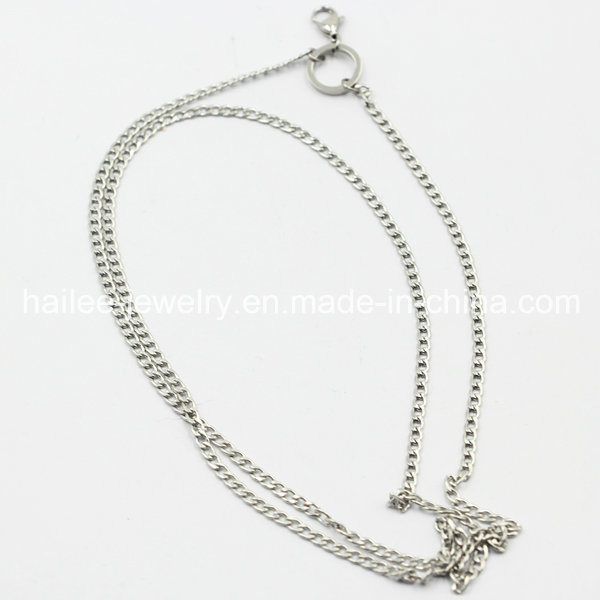 2015 Fashion Stainless Steel Imitation Necklace Jewelry