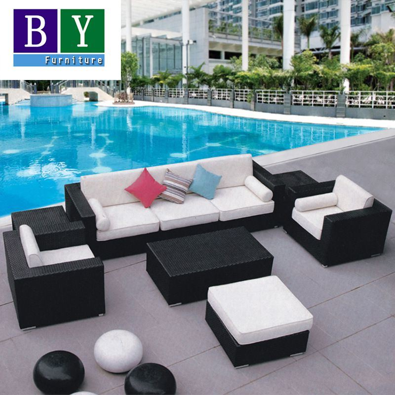 PE Rattan Sofa Garden furniture Outdoor Rattan Furniture
