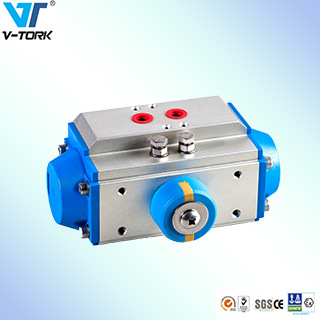 at Series Pneumatic Actuator for Ball Valve and Butterfly Valves