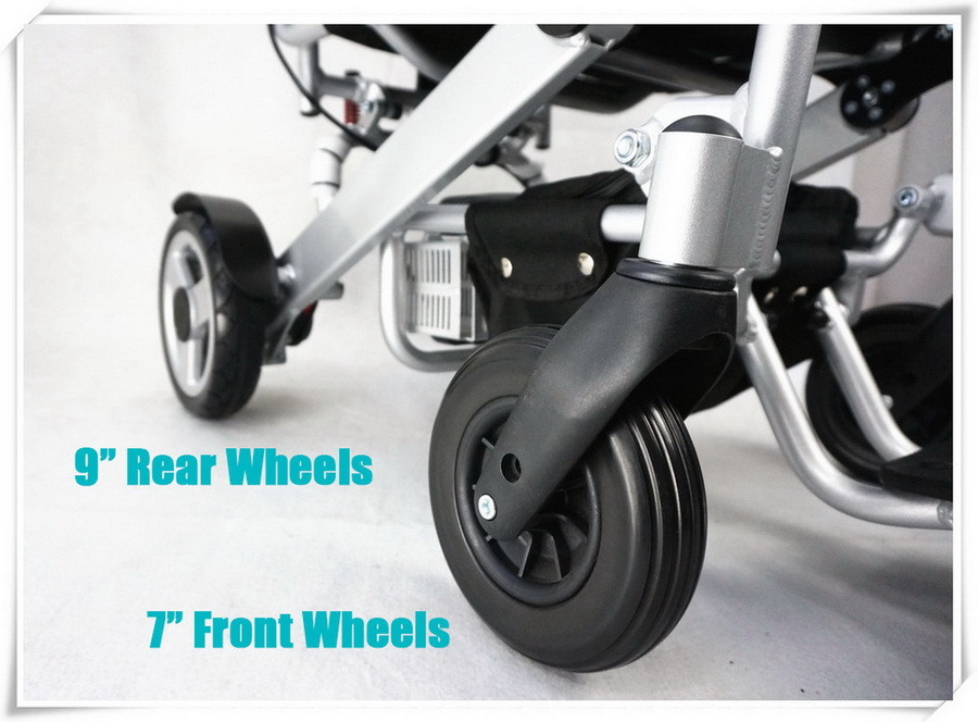 Tiny 5 Foldable and Portable Power Wheelchair