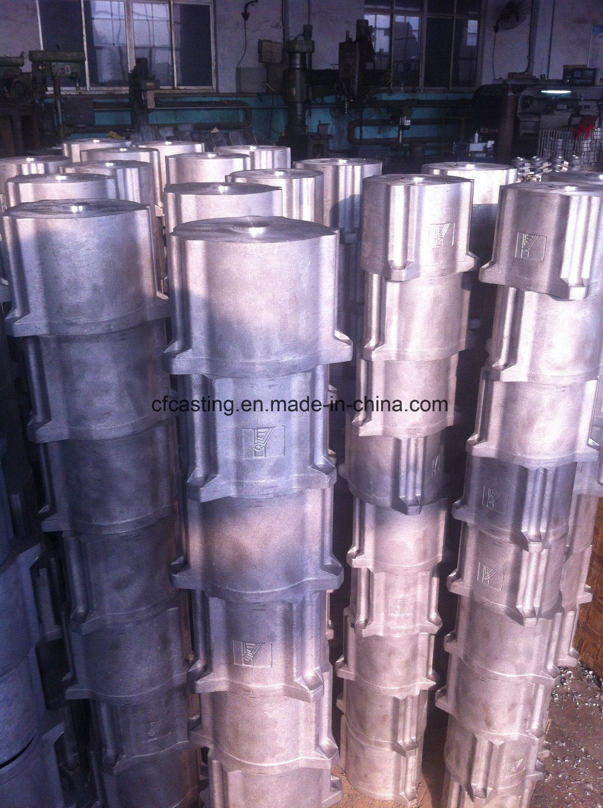 Customized Aluminum Pump Casting Parts