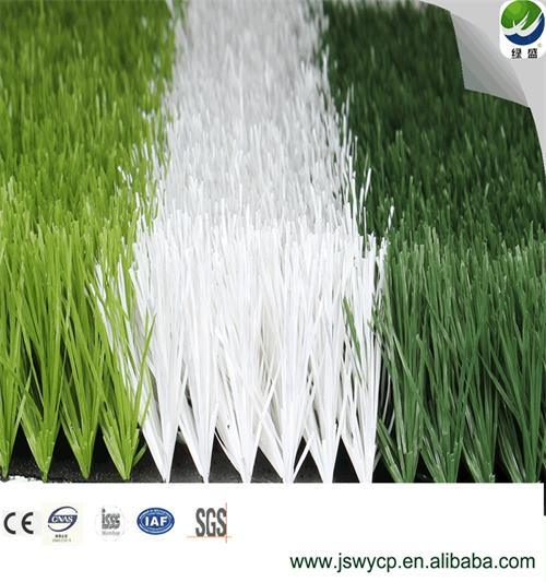 Wy-14+15, Soccer Field Grass, SGS, Ce Approved, Water Proof Thick Artificial Grass Synthetic Grass Turf Lawn for Football Field China