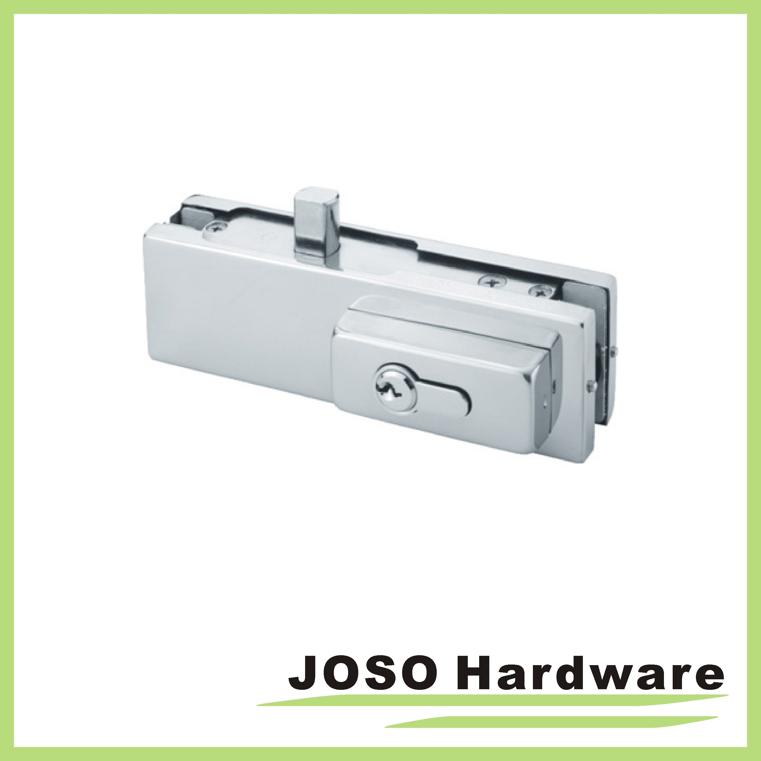 Patch fittings typical application for glass door with patch fittings - Dorma Glass Door Complete Bottom Lock Patch Fitting Including Cylinder