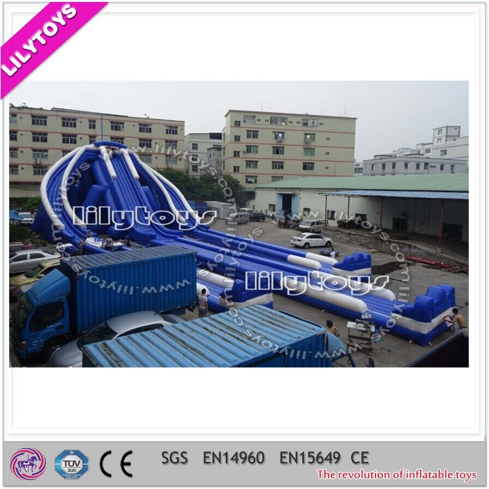 Giant Inflatable Trippo Slide for Amuse Toys