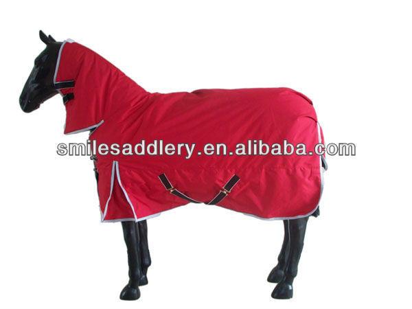 Waterproof Ripstop Red Winter Horse Rug (SMR2578)