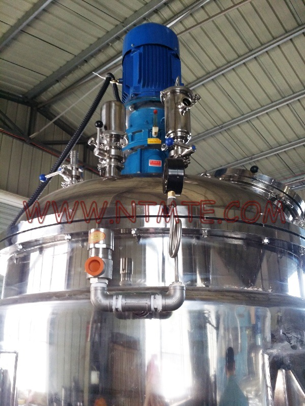 High Viscosity Low Speed Vacuum Mixer with Electrical Heating for Paint, Cream, Toothpaste