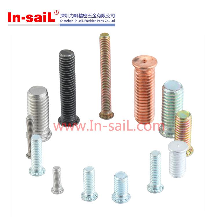 Steel 4.8 Copper Plated Welding Fastener
