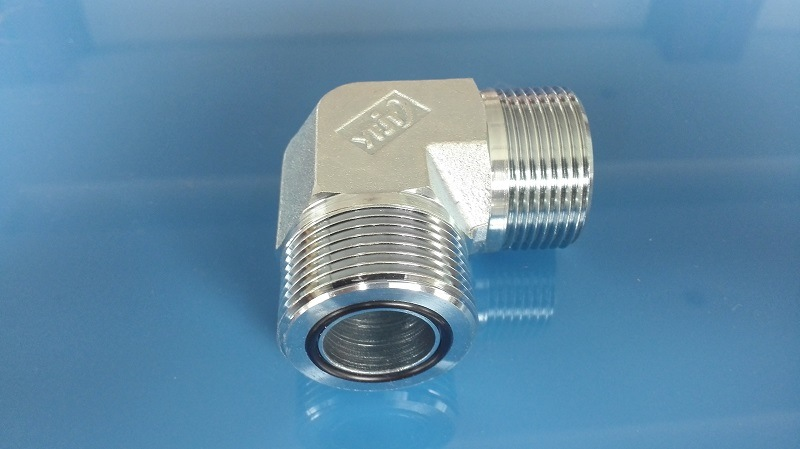 Orfs Flat Seal 90 Elbow Male Tube Fitting (1F9)