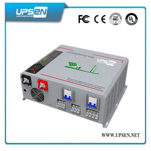 Hybrid Solar Single Phase Inverter Built in MPPT Solar Controller