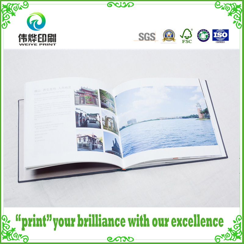 Various Colorful Customized Hard Cover Paper Printing Books