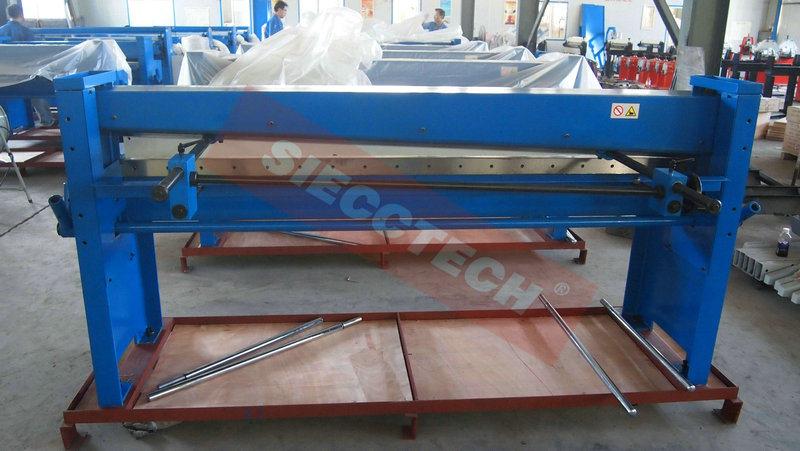 Q01 Hand Guillotine Shearing Machine Manual Guillotine Shearing Machine