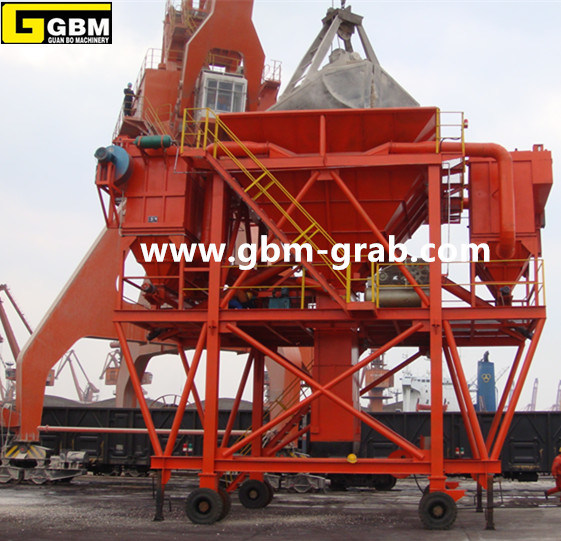 Mobile Industry Cement Dust Proof Hopper.