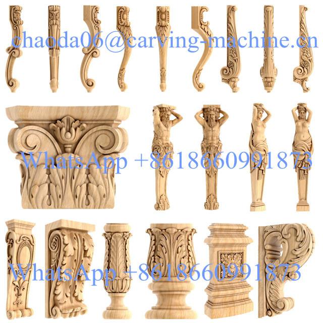 3D Wood Carving Rotary Wood Furniture Design Machine Automatic Sofa Making  Machine
