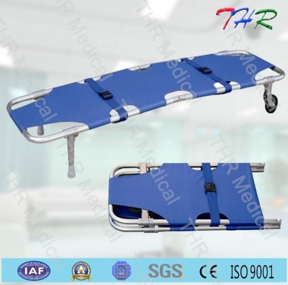 Medical Aluminum Alloy Foldaway Stretcher (THR-1A1)