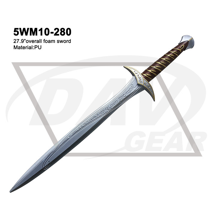 "27.9"" Overall Foam Sword From The Lord of The Rings: 5wm10-280"