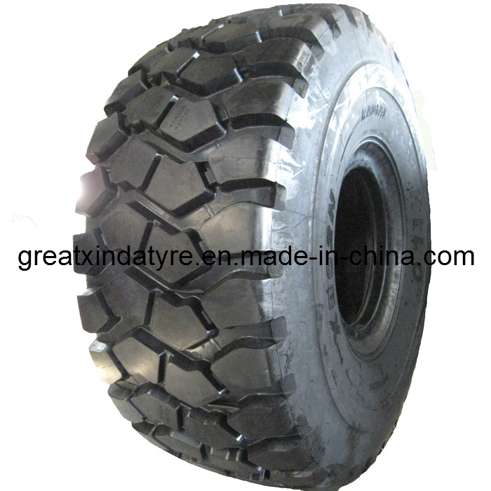 Radial OTR Tyre with Natural Rubber, Dump Truck Tyre Without Inner Tube (650/65R25)