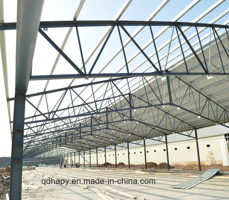 Prefabricated Poultry House with Production Equipment