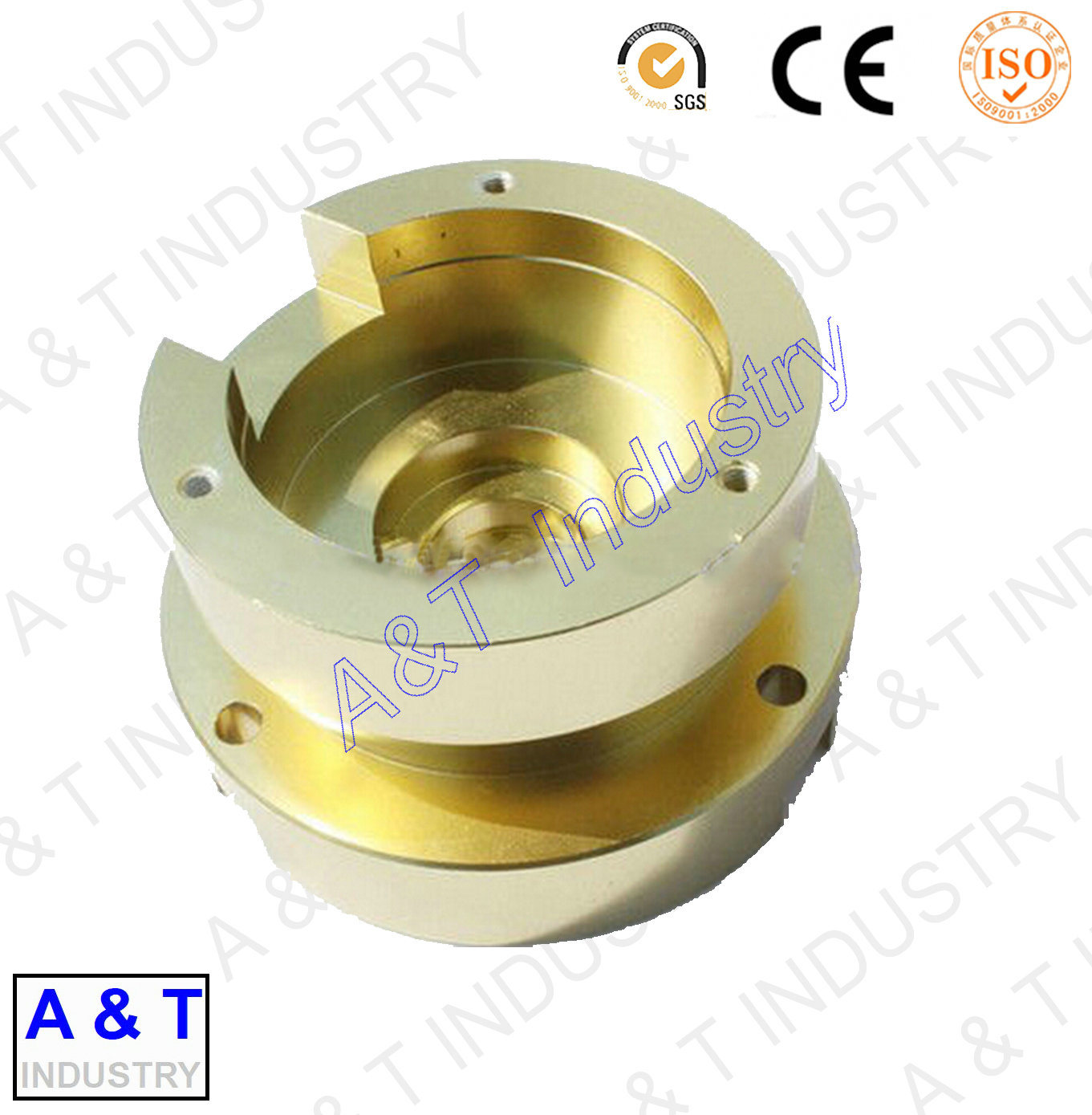 CNC Customized Aluminum/Stainless Steel/Brass/ Turning Part, Auto Parts