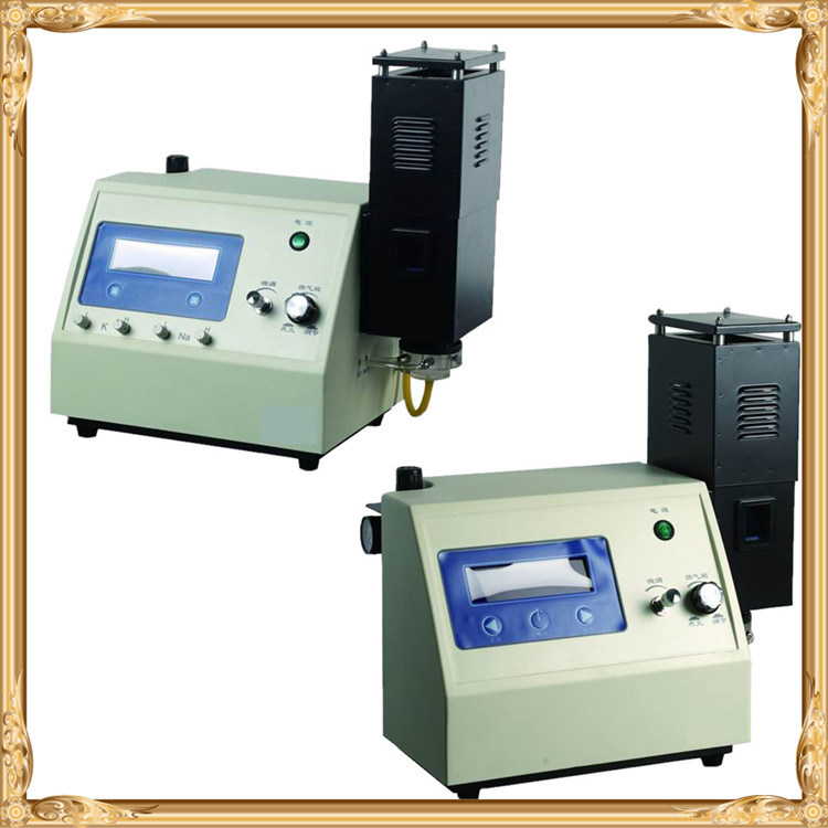 Gd-6450 Dental Clinic Laboratory Digital Flame Photometer for K, Na, Li, Ca, Ba Elements Testing