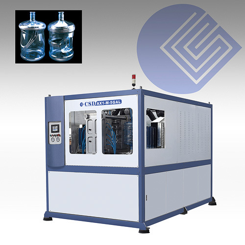 CE Approved with Ax Down Blow Series Automatic Blow Molding Machine (CSD-AX1-M-5GAL)