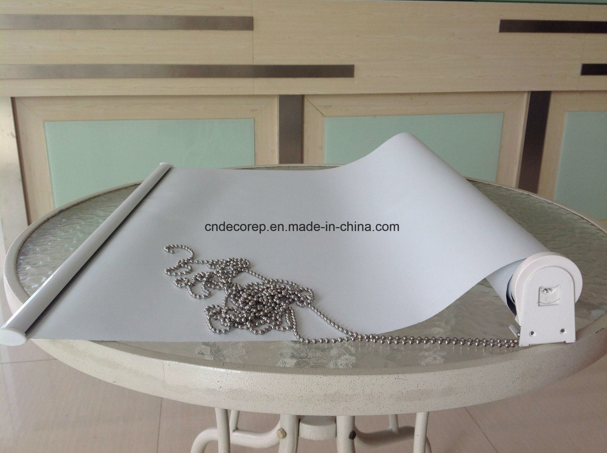 Custom Design Horizontal Sunscreen Blackout Roller Blinds