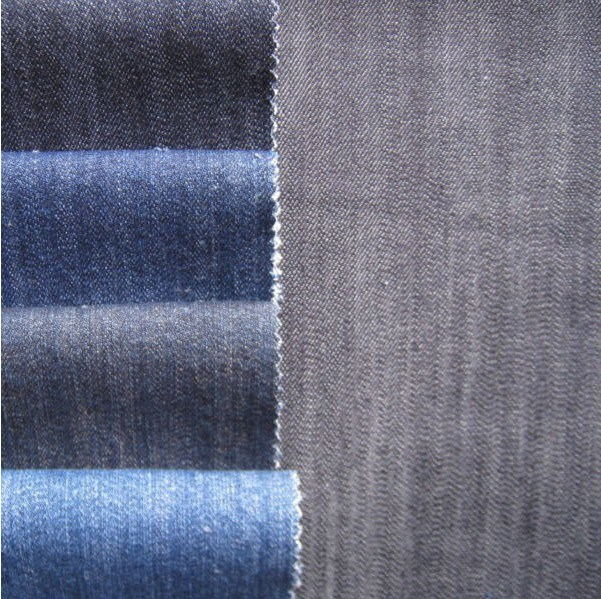 100% Cotton Slub Denim Fabric for Jeans and Jackets