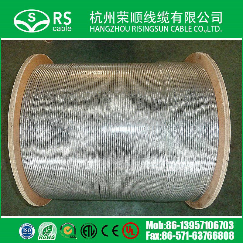 Rg59/RG6/Rg11 Semi-Finished Cable Hot Sell India/Turkey/Brasil