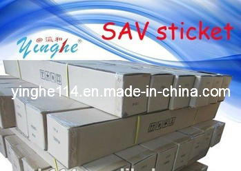 Sav Self Adhesive Vinyl Sticker (SAV sticker SAV vinyl yinghe)
