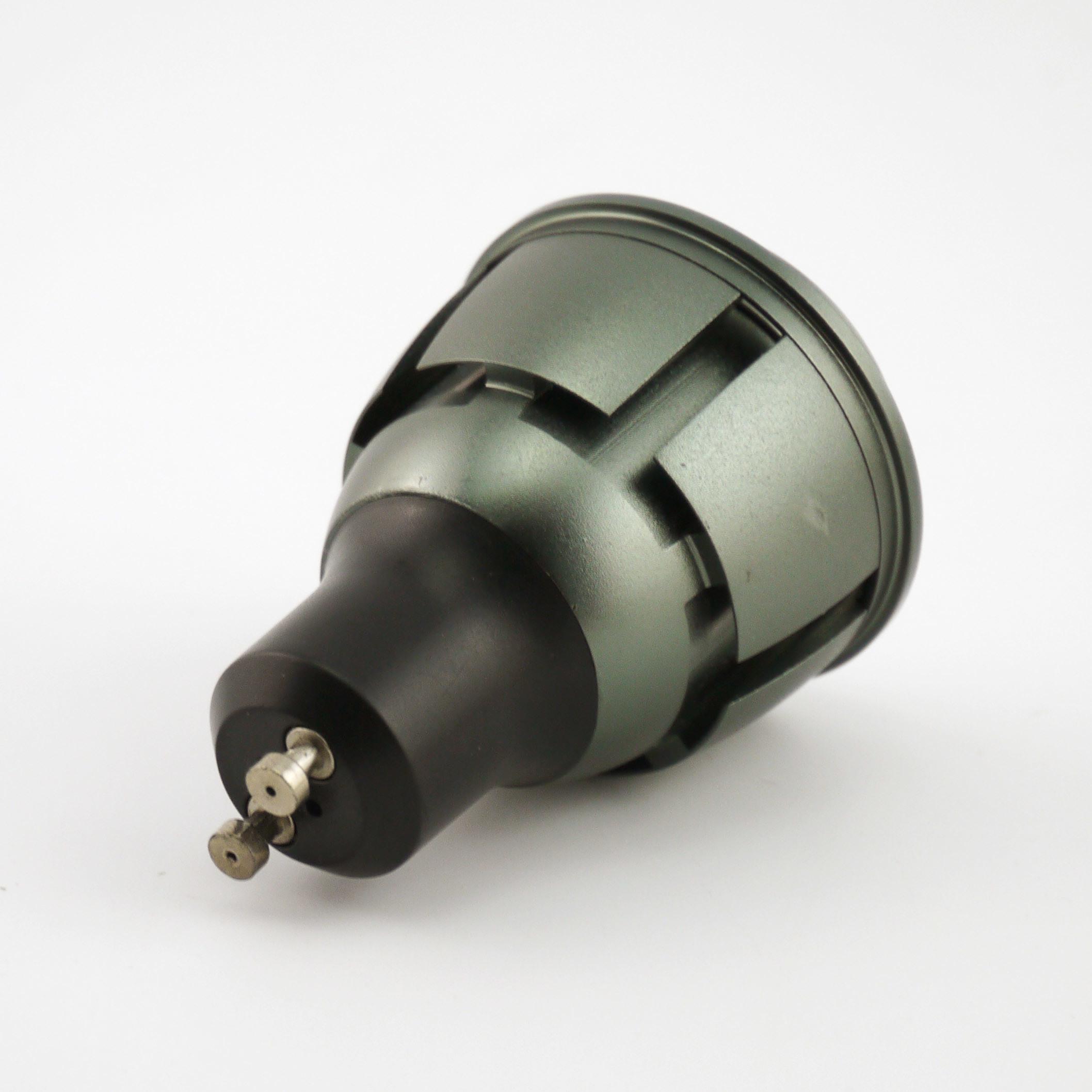 Aluminum 4W COB LED Recessed Spotlight GU10 Bulb