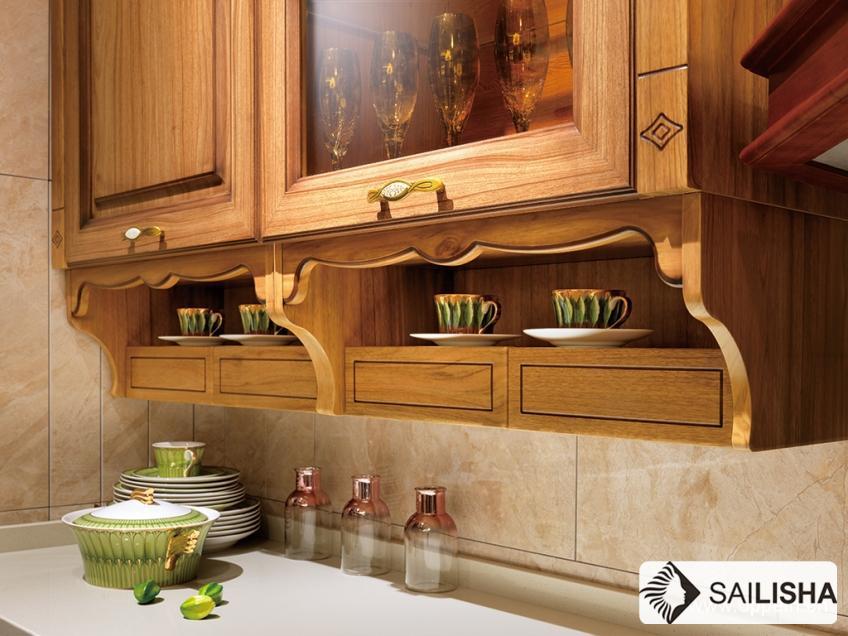 Modern Caribbean Home Hotel Furniture Island Wood Kitchen Cabinet
