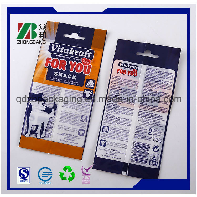PE Ziplock Bag with White Write Printing