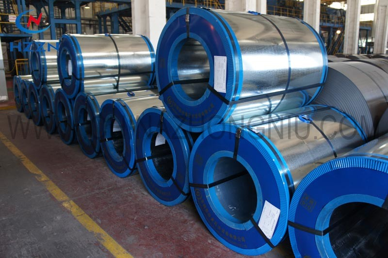 Baosteel (huangshi) Galvanized Steel Coil with RoHS Approved
