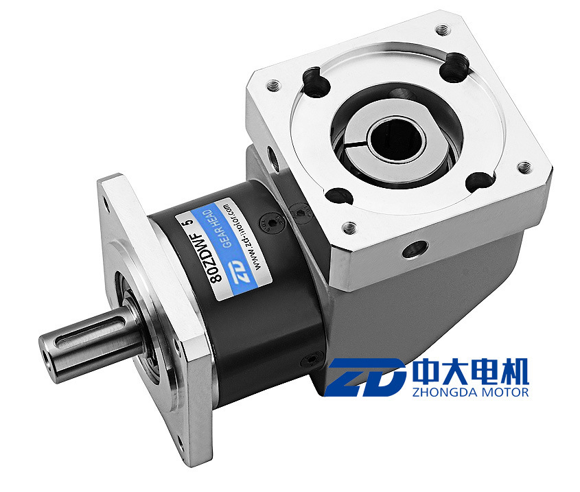ZD Square Mounting Flange Right Angle Planetary Gear Box