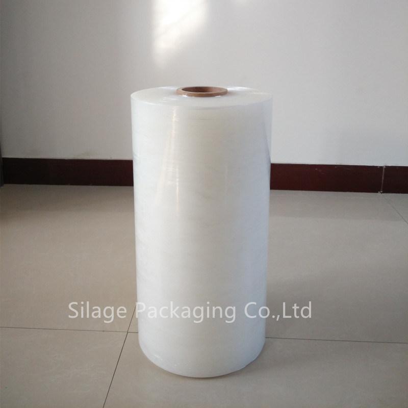 3-Layer One Side Sticky Blown Clear Stretch Wrap Film