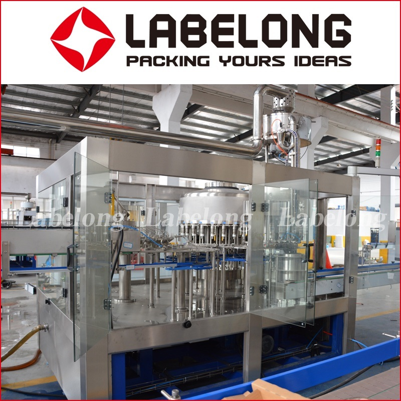 Automatic Soda Water /Aerated Water Filling Machine Factory