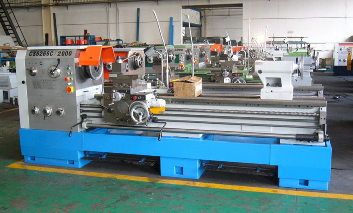 Precision Gap Bed Lathe (Metal Lathe CS6250B CS6250C CS6266B CS6266C)