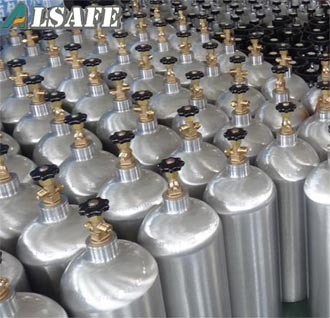 Beverage Grade 150bar/200bar Aluminum CO2 Tank
