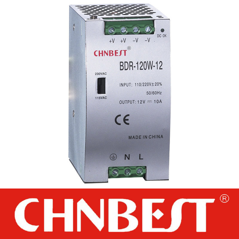 48VDC 120W DIN-Rail Power Supply (DR-120-48)