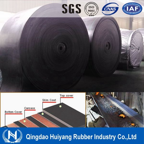 EPDM Rubber Cover Heat Resistant Conveyor Belt