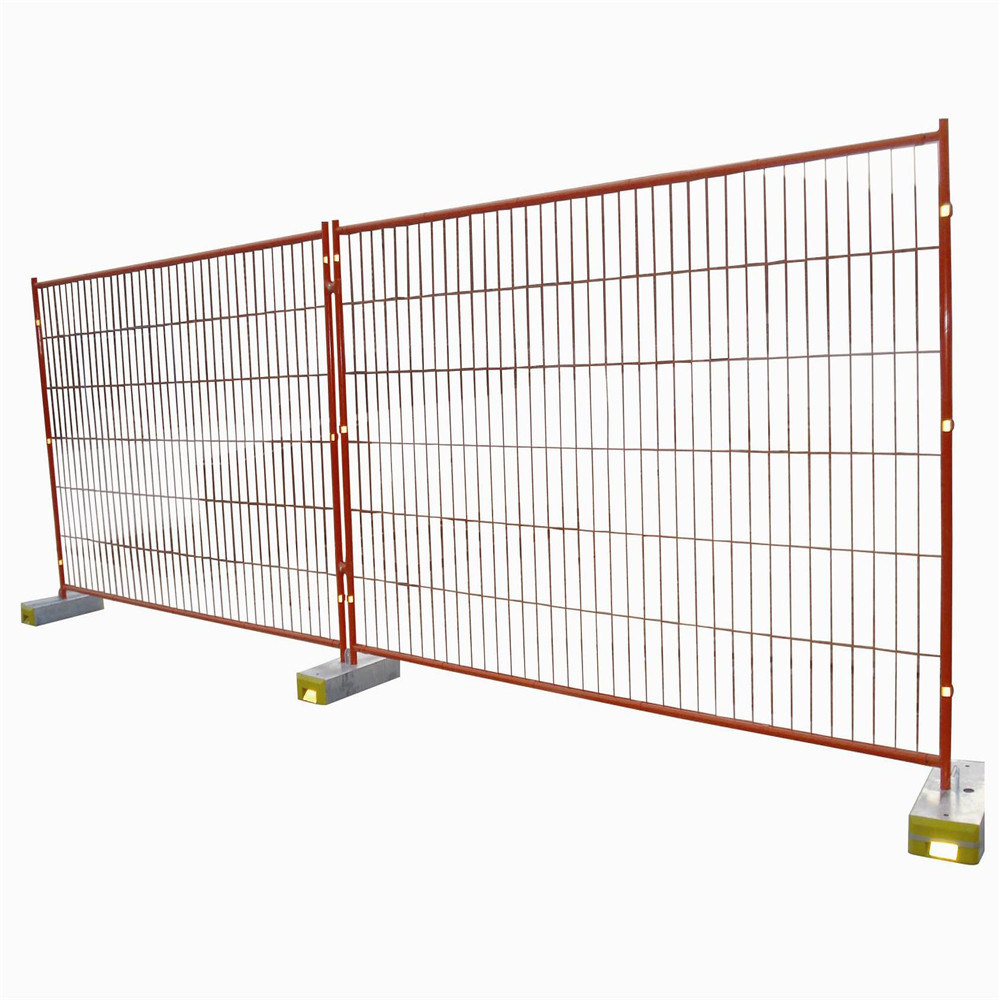 Galvanized Temporary Fence Strong Feet