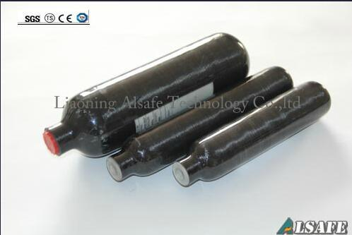 Carbon Fiber Strengthed Paintball Nitrogen Cylinders