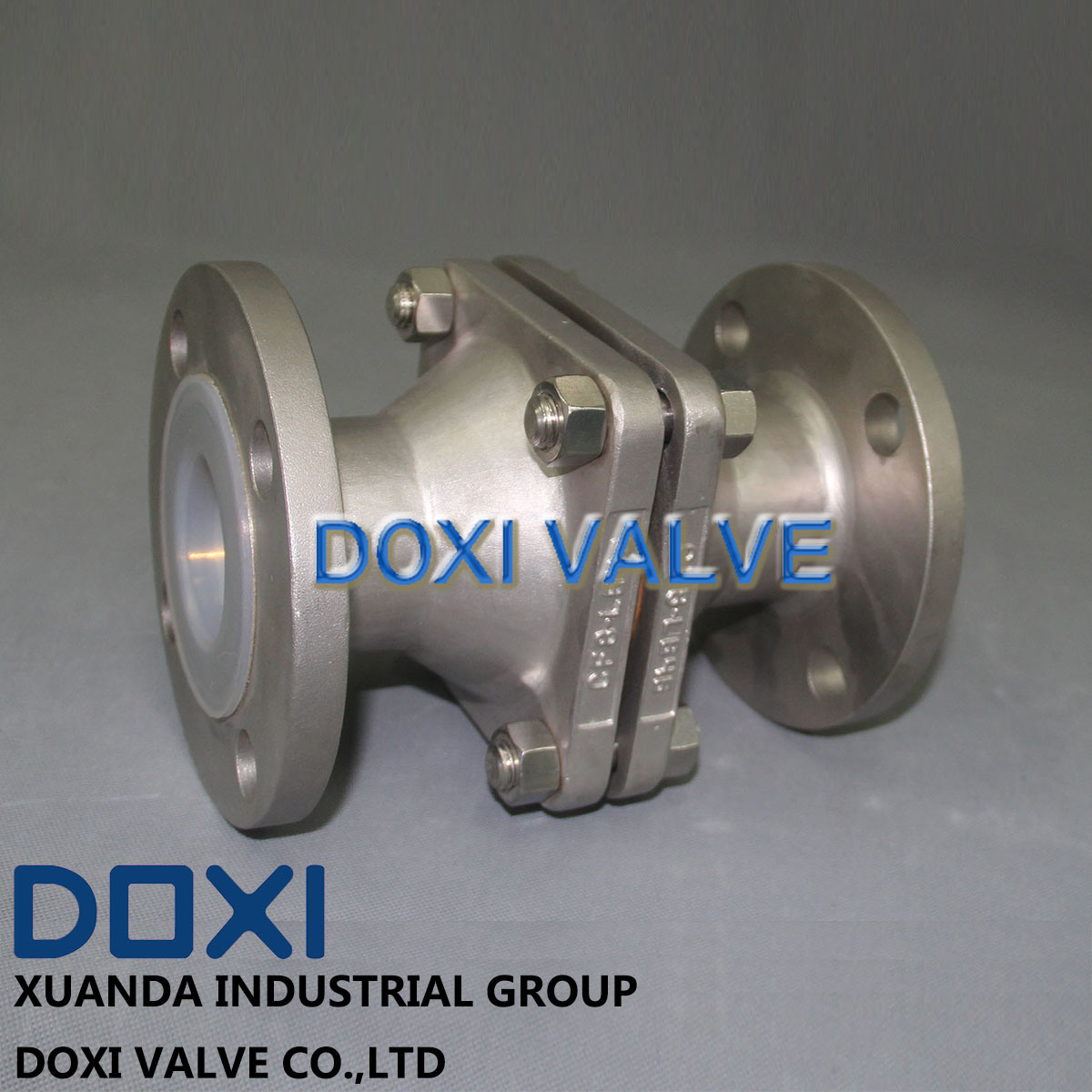PFA Sight Glass Ball Check Valve