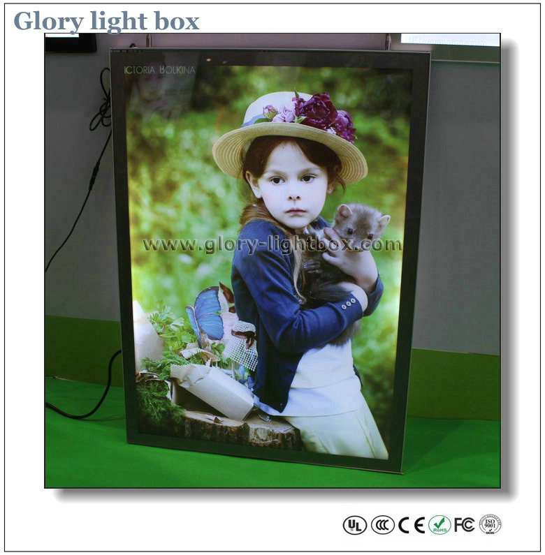 CE and RoHS Approved Magnetic Frame LED Slim Light Box