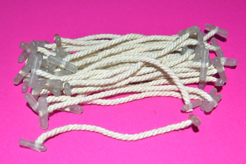Factory Plastic Tips File Folder Tag Cotton Rope