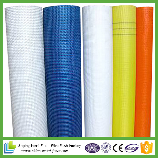 5X5mm or 4X4mm Alkali-Resistant Fiberglass Mesh for Wall