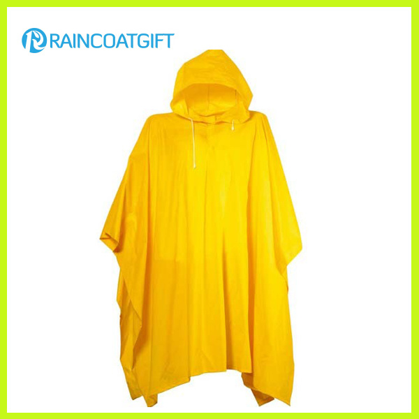 Promotional Purple PVC Rain Poncho RGB-162