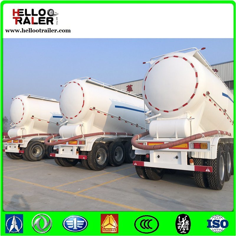 3axle 40m3 Cement Transport Trucks Tank Semi Trailer