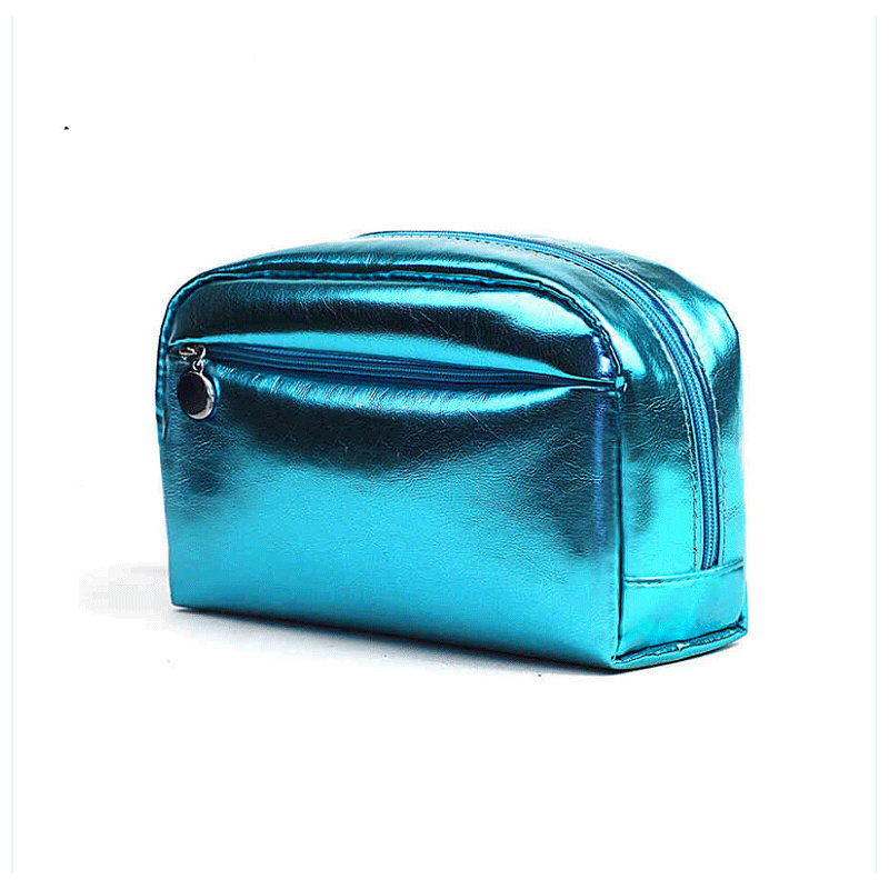 2016 Fashion Candy Color Shiny Glossy Cosmetic Bag
