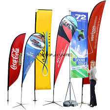Outdoor Advertising Event Promotion Aluminium Custom Country Flying Flag Banner