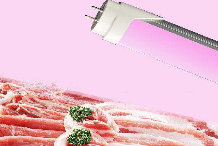 18W Pink LED T8 Fresh Meat Tube